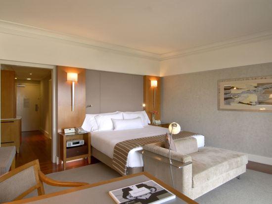 新加坡費爾蒙酒店(Fairmont Singapore)費爾蒙金尊兩張大床房