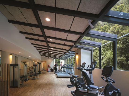 新加坡香格里拉聖淘沙度假酒店(Shangri-La's Rasa Sentosa Resort & Spa)健身房
