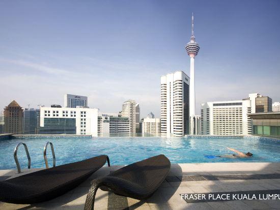 吉隆坡輝盛國際公寓(Fraser Place Kuala Lumpur)室外游泳池