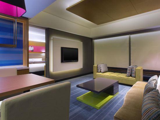 吉隆坡中環廣場雅樂軒酒店(Aloft Kuala Lumpur Sentral)清風套房