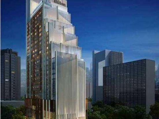 曼谷素坤逸希爾頓酒店(Hilton Sukhumvit Bangkok)外觀