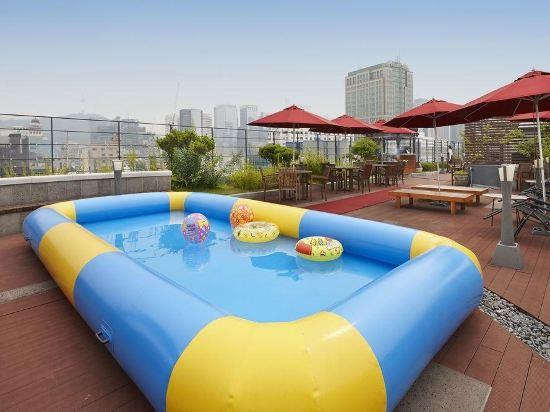 宜必思仁寺洞大使酒店(Ibis Ambassador Insadong)室外游泳池