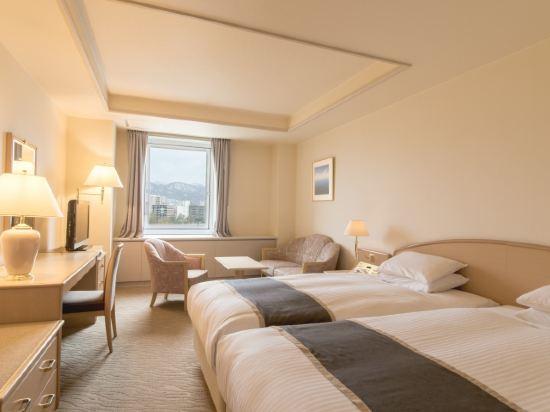 札幌公園飯店(Sapporo Park Hotel)好萊塢大型雙床房