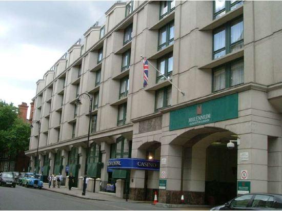 倫敦肯辛頓千禧國際格洛斯特酒店(Millennium Gloucester Hotel London Kensington)外觀