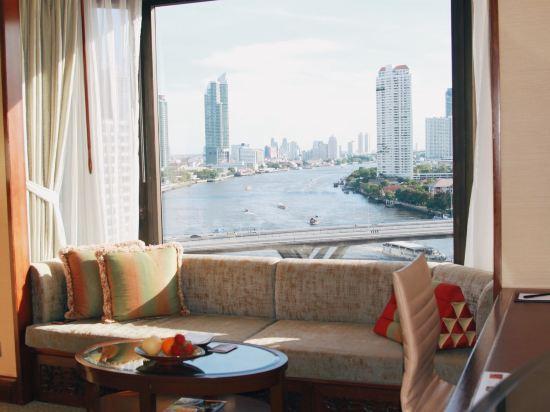 曼谷香格里拉酒店(Shangri-La Hotel Bangkok)香格里拉樓豪華河景房