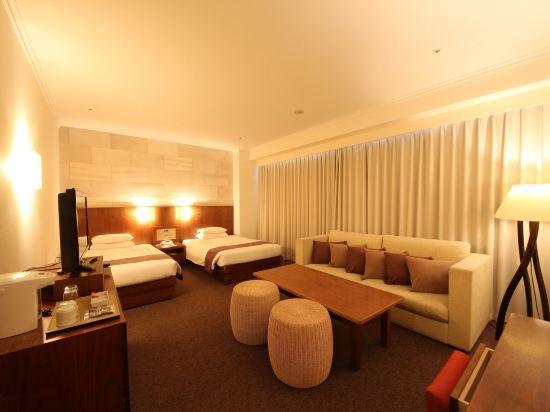 札幌果子王國度假酒店(Chateraise Gateaux Kingdom Sapporo Hotel & Spa Resort)設計師豪華雙床房