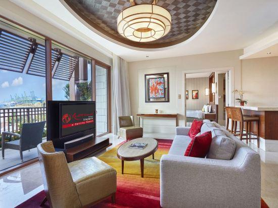 新加坡聖淘沙名勝世界逸濠酒店(Resorts World Sentosa - Equarius Hotel)豪華套房