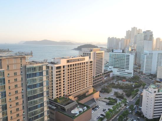 海雲台馬克酒店(Hotel the Mark Haeundae)眺望遠景