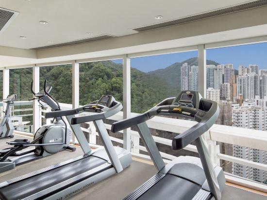 香港如心銅鑼灣海景酒店(L'hotel Causeway Bay Harbour View Hong Kong)健身房