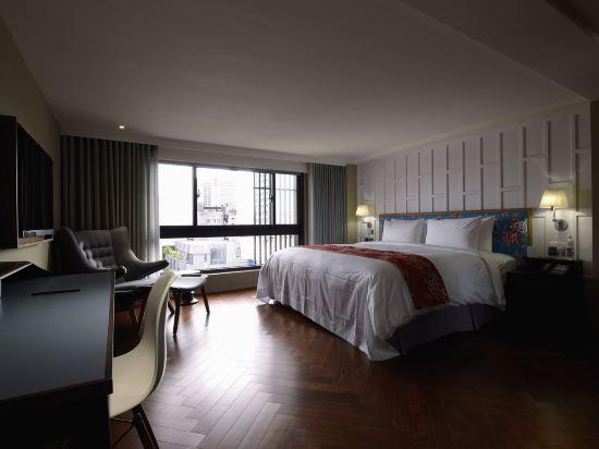 台中紅點文旅(RedDot Hotel)豪華雙人房