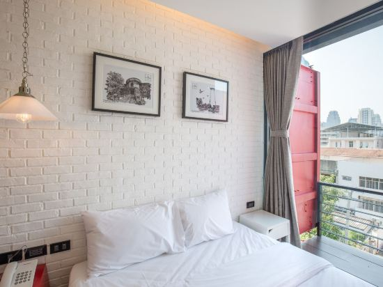 素坤逸膠囊22號旅舍(Sleepbox Sukhumvit 22 Hostel)一卧室房(帶私人浴室)