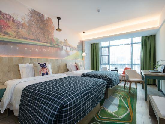 美豪酒店(常州恐龍園旗艦店)(Mehood Hotel (Changzhou Dinosaur Park Flagship))3D影院雙床房
