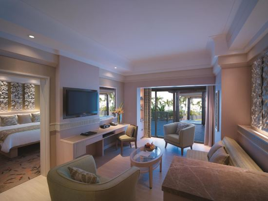 新加坡香格里拉聖淘沙度假酒店(Shangri-La's Rasa Sentosa Resort & Spa)豪華海景套房