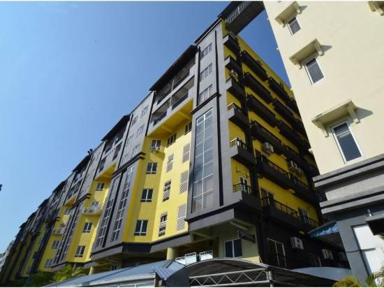 吉隆坡567梅根大使館優雅工作室OYO公寓