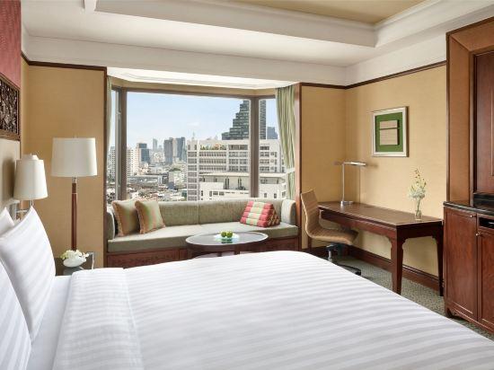 曼谷香格里拉酒店(Shangri-La Hotel Bangkok)香格里拉樓豪華房
