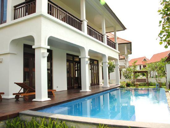 峴港富麗華別墅酒店(Furama Villas Danang)室外游泳池