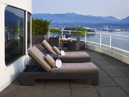 温哥華泛太平洋酒店(Pan Pacific Vancouver)公共區域
