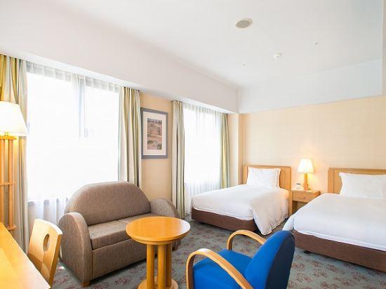 福岡凱悅酒店(Hyatt Regency Fukuoka)高級雙床房