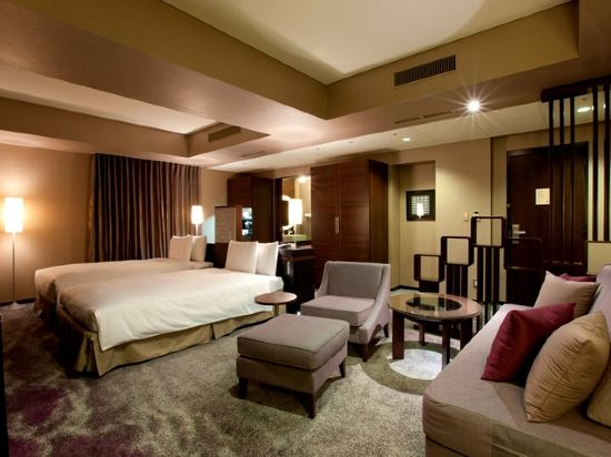 東京汐留皇家花園酒店(The Royal Park Hotel Tokyo Shiodome)精緻雙床套房(標準樓層)