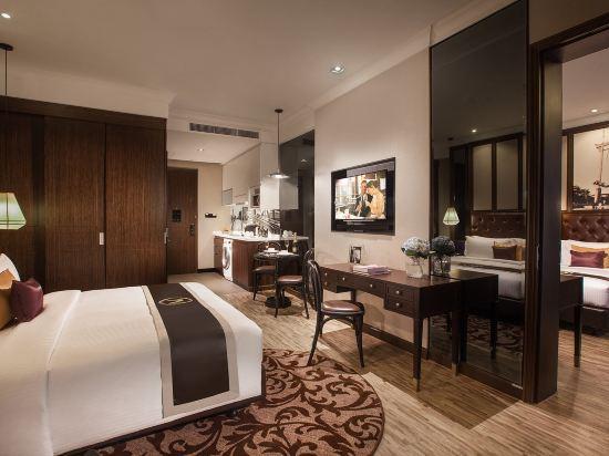 曼谷克雷斯典藏大都會酒店-雅詩閣有限公司(Metropole Bangkok the Crest Collection)一室公寓