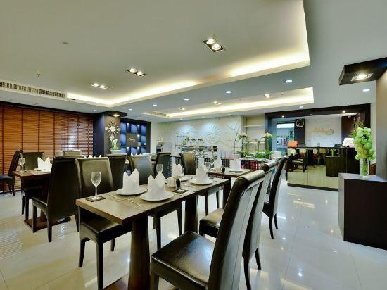 曼谷璀璨服務公寓酒店(Abloom Exclusive Serviced Apartment Bangkok)餐廳