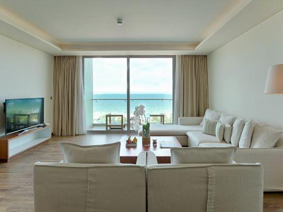 樂卡爾特峴港海灘酒店(A La Carte Da Nang Beach)海景兩卧高明亮至尊套房
