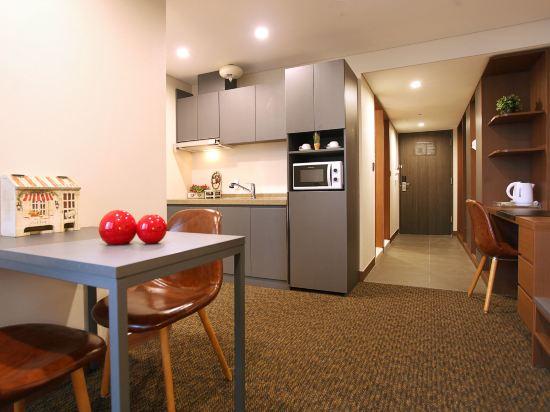 空中花園東大門金斯敦酒店(Hotel Skypark Kingstown Dongdaemun)雙床公寓