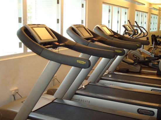 新加坡聖淘沙安曼納聖殿度假酒店(Amara Sanctuary Resort Sentosa)健身房