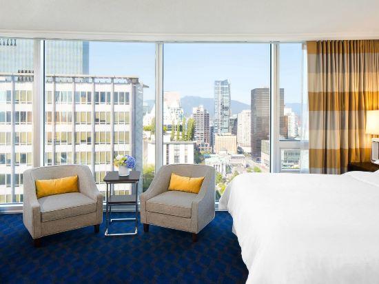 温哥華喜來登華爾中心酒店(Sheraton Vancouver Wall Centre)傳統房