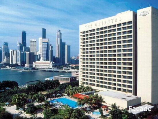新加坡文華東方酒店(Mandarin Oriental, Singapore)外觀