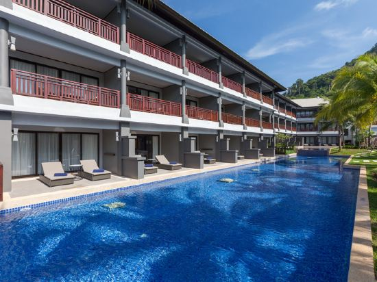 普吉島萬豪奈陽海灘水療度假村(Phuket Marriott Resort and Spa, Nai Yang Beach)室外游泳池