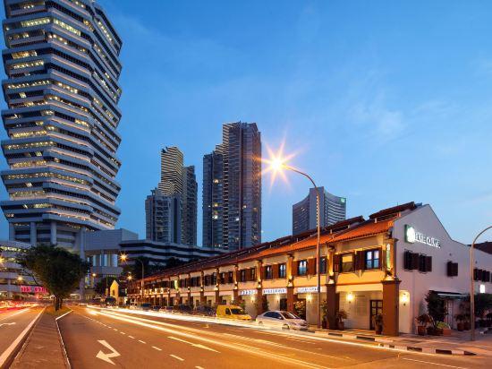 新加坡客來福酒店惹蘭蘇丹33號(Hotel Clover 33 Jalan Sultan Singapore)外觀