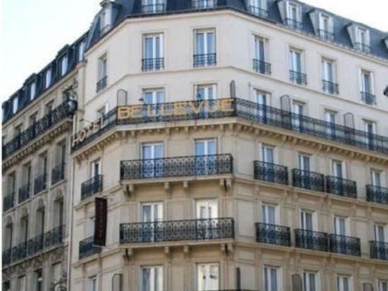 巴黎蒙馬特貝爾維尤酒店(Hôtel Bellevue Montmartre Paris)外觀