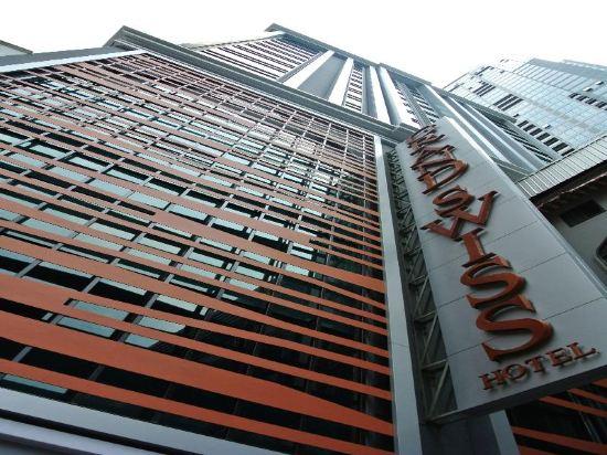 康帕斯酒店集團素坤逸11巷瑞士大酒店(Grand Swiss Sukhumvit 11 by Compass Hospitality)外觀