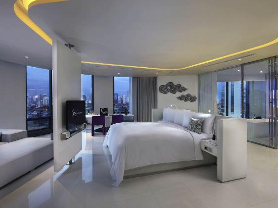 曼谷索菲特特色酒店(SO Sofitel Bangkok)閣樓房