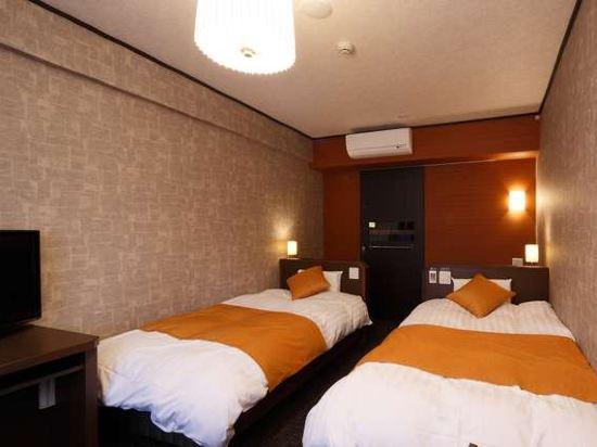 花螢之湯京都站前多米豪華酒店(Hotel Dormy Inn Premium Kyotoekimae)雙床房