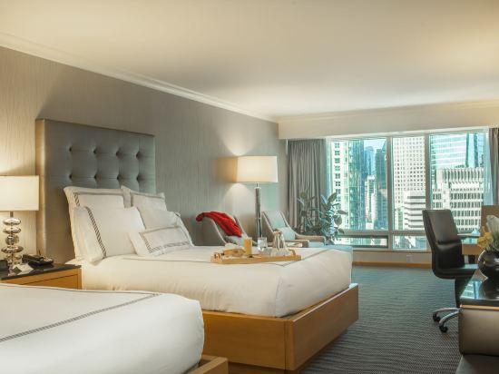 温哥華泛太平洋酒店(Pan Pacific Vancouver)豪華房