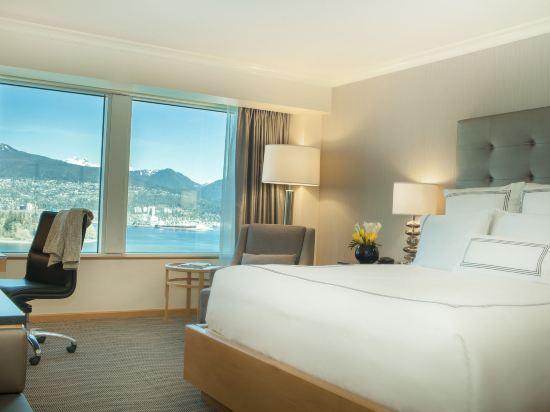 温哥華泛太平洋酒店(Pan Pacific Vancouver)海港景豪華房