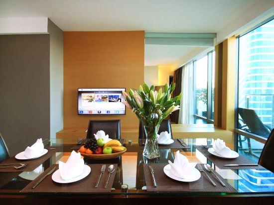 曼谷斯瓦特爾酒店(Sivatel Bangkok)至尊皇家複式兩卧室套房