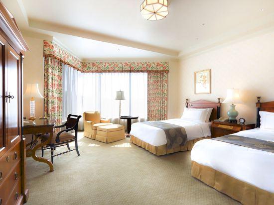 東京椿山莊大酒店(Hotel Chinzanso Tokyo)城景至尊雙床房