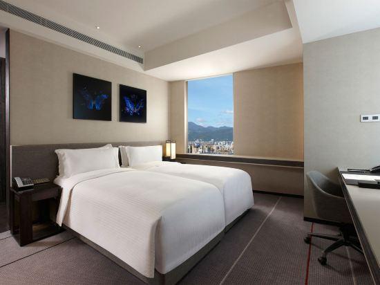 台北寒舍艾麗酒店(Humble House Taipei)首席客房雙床房