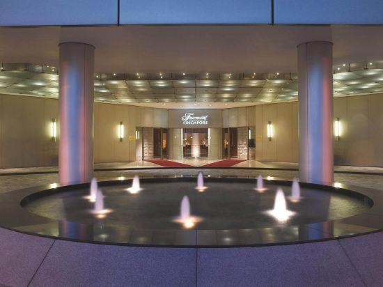 新加坡費爾蒙酒店(Fairmont Singapore)室內游泳池