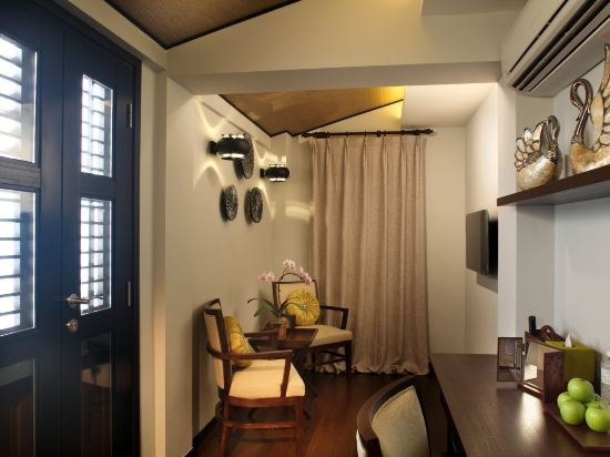 新加坡客來福酒店惹蘭蘇丹33號(Hotel Clover 33 Jalan Sultan Singapore)園景尊貴房