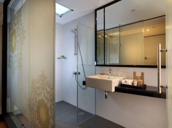 新加坡客來福酒店惹蘭蘇丹33號(Hotel Clover 33 Jalan Sultan Singapore)精選大床房(無窗)