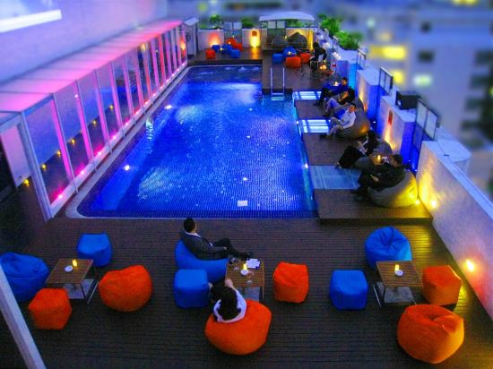 曼谷夢幻酒店(Dream Hotel Bangkok)室內游泳池