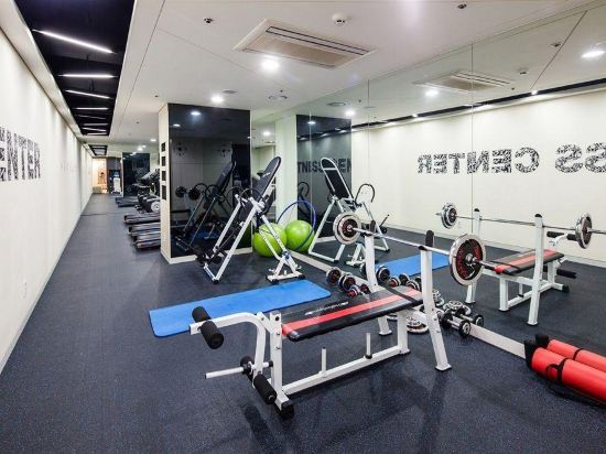 東大門西方高爺公寓酒店(Western Coop Hotel & Residence Dongdaemun)健身房