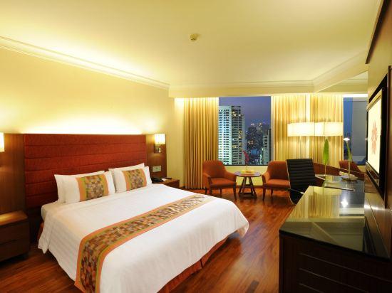 曼谷瑞博朗德酒店(Rembrandt Hotel Bangkok)豪華房