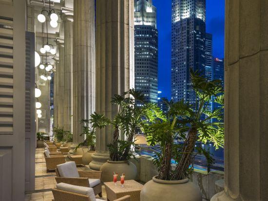 新加坡富麗敦酒店(The Fullerton Hotel Singapore)尊貴碼頭房