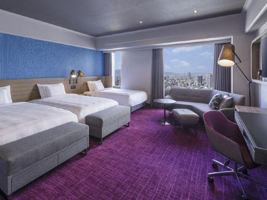 大阪南海瑞士酒店(Swissotel Nankai Osaka)瑞士行政三人房