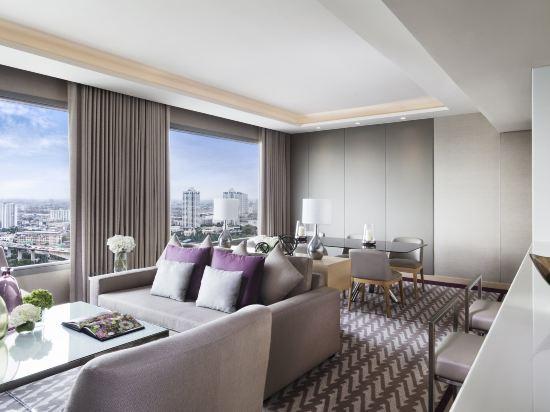 曼谷河畔安凡尼臻選酒店(Avani+ Riverside Bangkok Hotel)阿瓦尼河景三卧套房